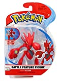 WCT Pokemon Battle Feature Figura Action SCIZOR 10cm Originale Cizayox Scherox