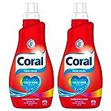 Coral Feinwaschmittel Fresh Color flüssig 44 WL (2 x 22 WL)