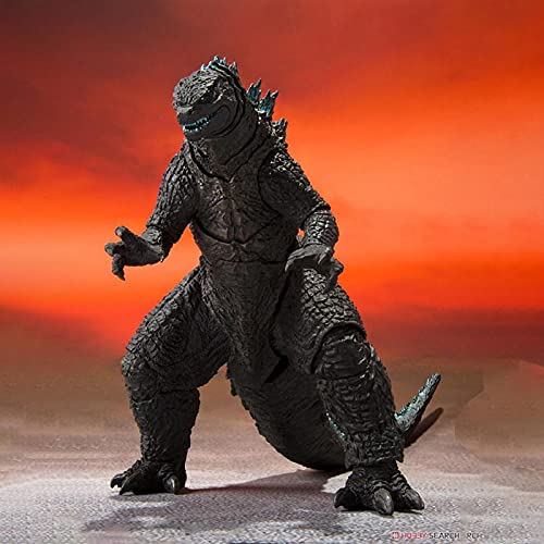 Anime 2021 Movie Godzilla Vs Kong Figure Godzilla Movie Version S.H. Monsterarts Action Figures Model Decoration Collection Toy Adult Birthday Gift