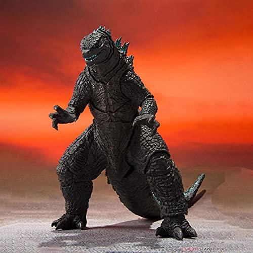Anime 2021 Film Godzilla Vs Kong Figur Godzilla Filmversion S.H. Monsterarts Actionfiguren Modell Dekoration Sammlung Spielzeug Erwachsene Geburtstagsgeschenk