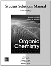 Solutions Manual for Organic Chemistry by Carey, Francis Published by McGraw-Hill Science/Engineering/Math 9th (ninth) edition (2013) Paperback