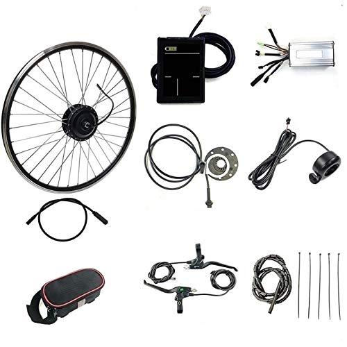 CRMY Kit De Bicicleta Eléctrica 48V 500W 20