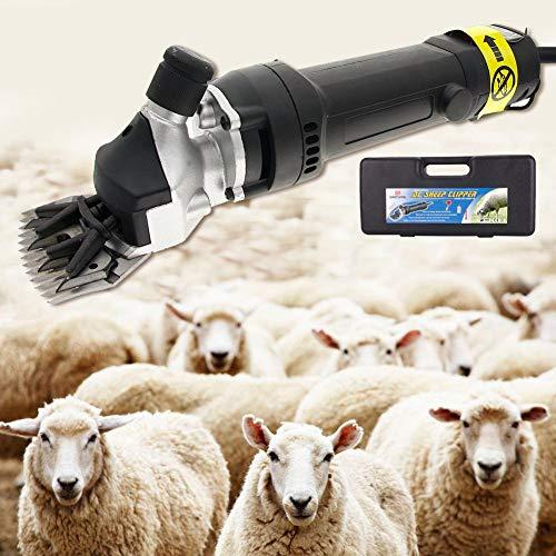 ExGizmo 320W Electric Sheep Goat Clipper Shears Wool Shearing Livestock Sheep Goat Animal Hair Fur Shearing