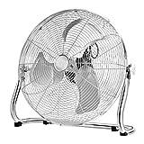 Ventilador orbital industrial de alta velocidad del tambor / ventilador del piso del gimnasio /ventilador eléctrico de escritorio con 3 velocidades y la cabeza ajustable del ventilador /24 pulgadas