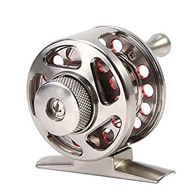 Fly Fishing Reel, CNC Machined Aluminum Alloy Body and Reel Spool Tackle Tool by VGEBY