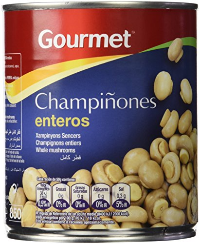 Gourmet - Champiñón Entero, 420 g