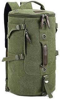 Men women Fashion Big Cylinder backpack Leisure bag Travel Bag computer bag[Xiux-AG17]