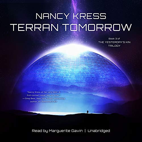 Terran Tomorrow audiobook cover art