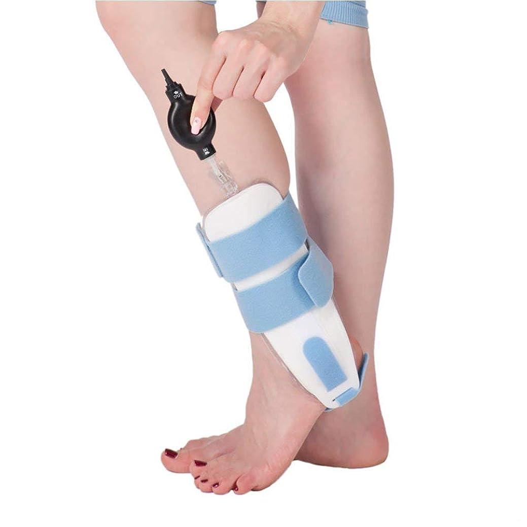 理由いらいらするアライアンス足首の装具の膨脹可能な足首の保護装置は石膏の足の捻rainの固定副木を取り替えることができます