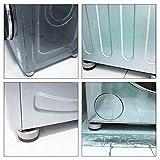 4 Stück Vibrationsdämpfer, Universal Schwingungsdämpfer, Waschmaschine Antivibrationsmatte, für Waschmaschinen Trockner Möbel Kühlschrank - 6