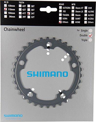 シマノ(SHIMANO) 補修パーツ チェーンリング 34T FC-R565 シルバー Y1MT34000