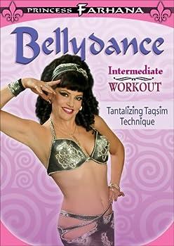DVD Princess Farhana:Belly Dance Intermediate Workout Book