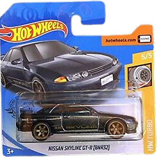 Hot Wheels Nissan Skyline GT-R (BNR31) HW Turbo 5/5 2020 (002/250) Short Card