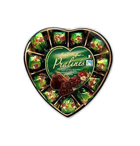 Pralinen Milchschokolade Haselnuss & Cerealien Herz 1 x 165g
