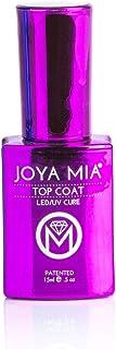 JOYA MIA Professional Top Base Coat Gel Nail Polish Long Lasting Soak Off No Cleaners Needed (15ml, Top Coat)