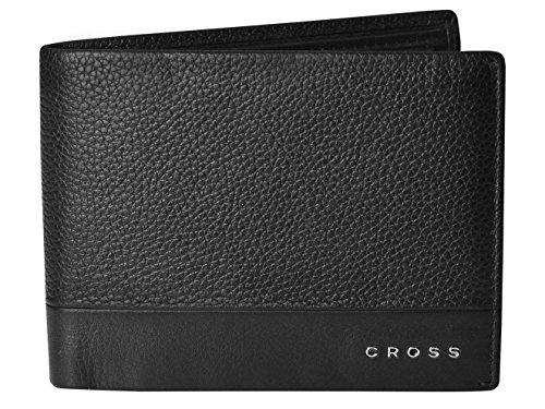 Cross Geldbörse Herren Nueva in Geschenkbox mit RFID-Schutz - Echtleder - schwarz Querformat Slim