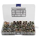 Set di riparazione del filo BiuZi M8 1.5 D Tap Drill Insert Kit di installazione Kit di assortimento di strumenti di riparazione inserti filettati in acciaio inossidabile 304 rosso