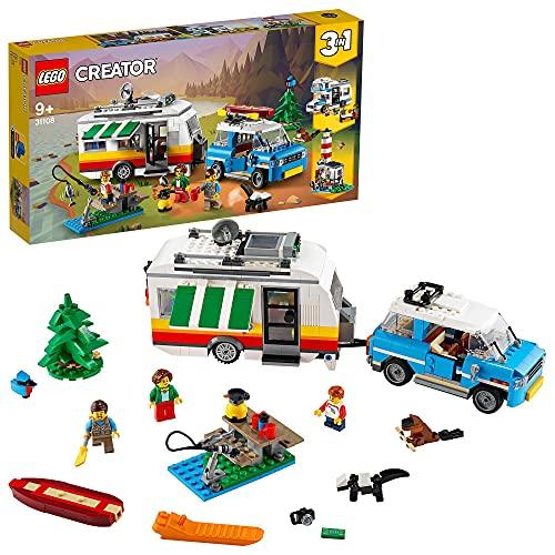 LEGO31108CreatorVacacionesFamiliaresenCaravanaJuguetedeConstruc...