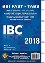 2018 International Building Code (IBC) Fast Tabs