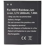 Batería para Wiko Rainbow Jam, Wiko Rainbow Jam 4G, batería 5222