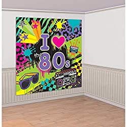 I Love the 80s Wall Decoration
