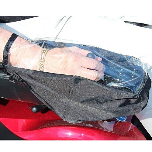 Elektrische Rollstuhl-Bedienfeldabdeckung Wasserdichte Rollstuhl-Abdeckung, Rollstuhl-Joystick-Abdeckung Wasserdichter Schutz für Steuerkasten