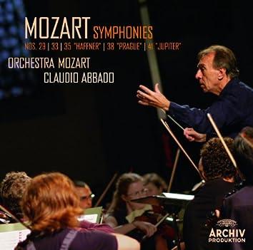 """Mozart: Symphonies Nos. 29, K.201; 33, K.319; 35, K.385 """"Haffner""""; 38, K.504 """"Prague""""; 41, K.551 """"Jupiter"""""""