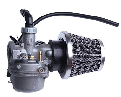 BH-Motor ATV Carburetor with Fuel Filter and 35mm Air Filter for PZ19 50cc 70cc 90cc 110cc 125cc ATV Dirt Pit Bike Taotao Honda CRF Go-Kart Carb SUNL