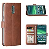 FUNMAX+ Nokia 2.3 Case, PU Leather Wallet Flip Cover [3