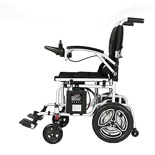 HXCD Electric wheelchair lithium battery elderly portable light folding disabled wheelchair