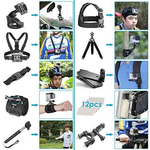 Ensemble Trousse Accessoires Caméra GoPro Neewer 50 en 1 - 1