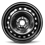 Road Ready Car Wheel For 2011-2017 Honda Odyssey 17 Inch 5 Lug Black Steel Rim Fits R17 Tire - Exact OEM Replacement - Full-Size Spare