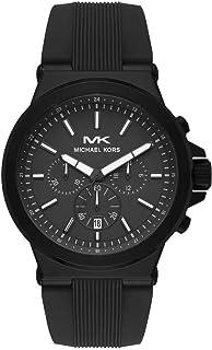 Michael Kors Dylan Men's Black Dial Silicone Analog Watch - MK8729