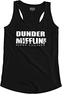 Dunder Paper Company Mifflin Office TV Show Racerback Tank Top