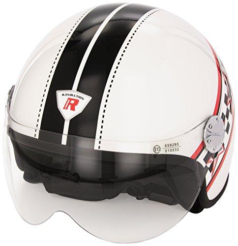 Bottari Motorradhelm RS2, Shine White, Größe L