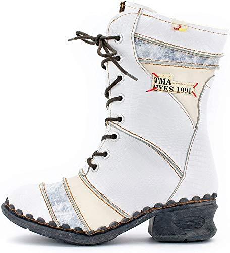 TMA Damen Winter-Stiefel 5199 Silberweiß 40