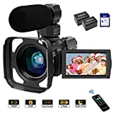 Best Camcorder For Huntings - Camcorder Video Camera FHD 1080P 42MP 16X Zoom Review