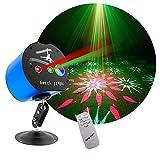 Rave Light Party Light,Disco Dj Lights Sound Activated Indoor Laser Light LED Stage Strobe Light for House Birthday Christmas