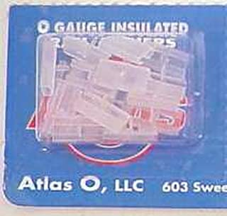 Atlas 6093 O Gauge Insulated Rail Joiners