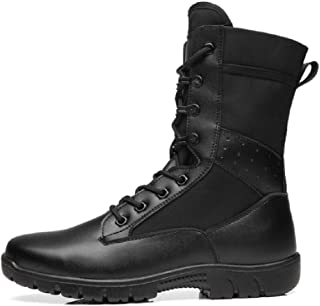 Mens Summer Combat Lightweight Military Army Boots High Tops Lace ups Ankle Boots Breathable Delta Armed Forces Shoes Large Size