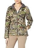 Under Armour Women's Core Wool Jacket,Ridge Reaper Camo Fo (943)/Metallic Beige, Small