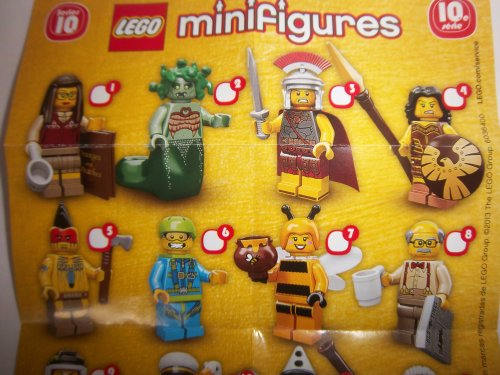 71001 LEGO Minifigures Series 10 - Complete Set of 16