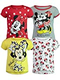 Disney Minnie Mouse Baby Girls 4 Pack Short Sleeve Graphic T-Shirt 18 Months