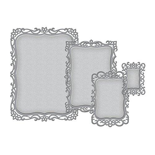 Spellbinders - Elementos Decorativos para Manualidades (8 Piezas)