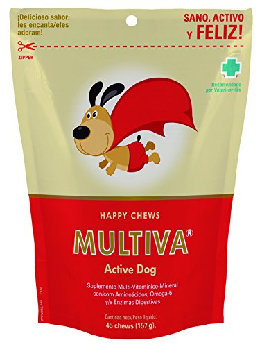 Multiva MP002 Active Dog Multivitamínicos para Perros