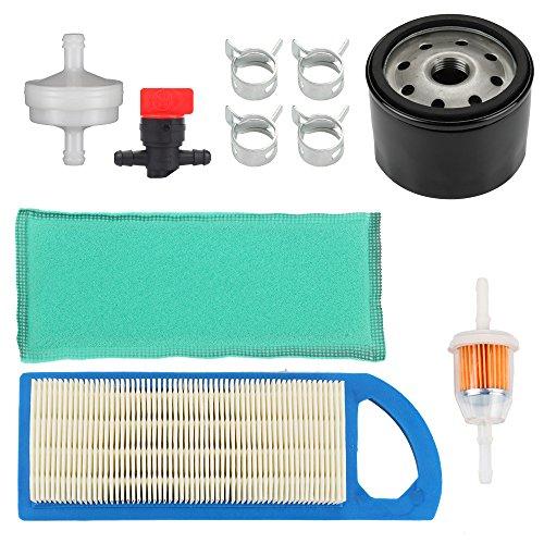 Harbot GY20573 Air Filter with Oil Filter Tune Up Kit for LA115 LA105 LA110 L100 L105 L107 Lawn Tractor