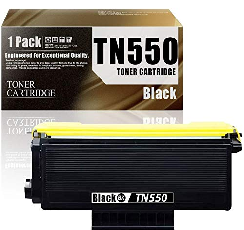 Price comparison product image TN550 / TN-5501-Pack Black Compatible Brother Ink Cartridge Replacement for Brother HL-5240 HL-5250DN / DNT HL-5380DN MFC-8370 MFC-8480DN DCP-8060 Printers Toner Cartridge.
