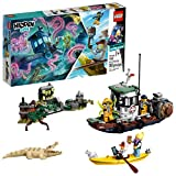 LEGO Hidden Side Wrecked Shrimp Boat 70419 Building Kit, App Toy for 7+ Year Old Boys and Girls,...