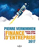 Finance d'entreprise by Pierre Vernimmen (2016-08-31) - Dalloz-Sirey - 31/08/2016