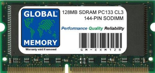 128 MB PC133 133 133 MHz 144 Pines SDRAM SODIMM Memory RAM